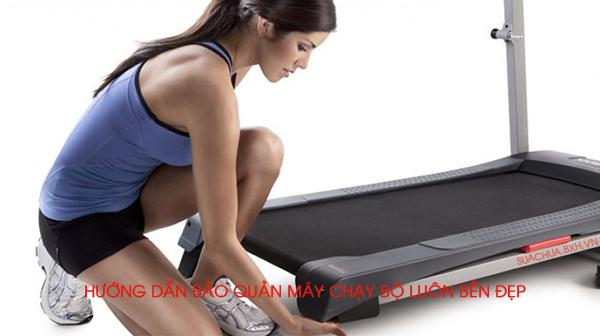 Hướng dẫn bảo quản máy chạy bộ luôn bền đẹp tại nhà