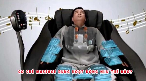 Cơ chế massage rung hoạt động như thế nào?