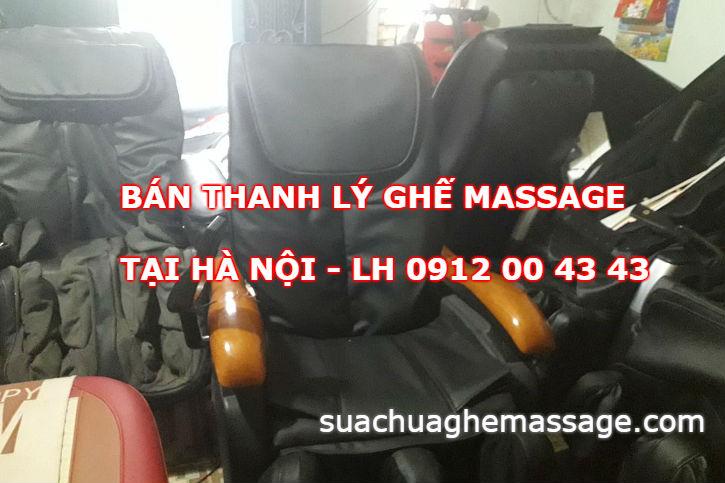 Bán thanh lý ghế massage cũ giá rẻ tại Hà Nội