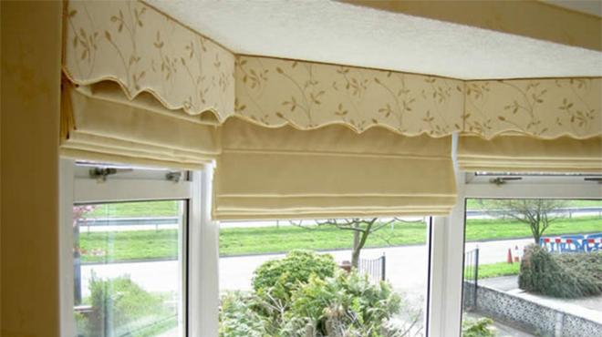Sử dụng màu be cho rèm cửa tạo nên không gian hoàn hảo