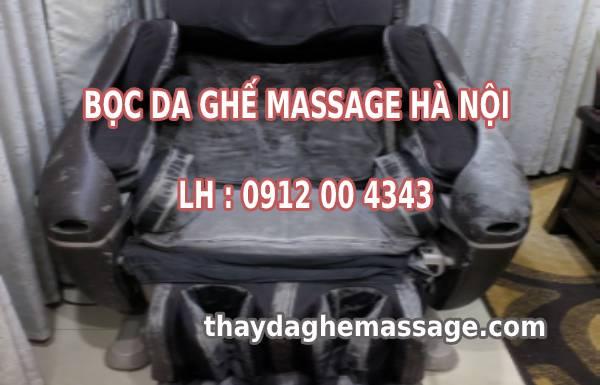 Bọc da ghế massage Hà Nội