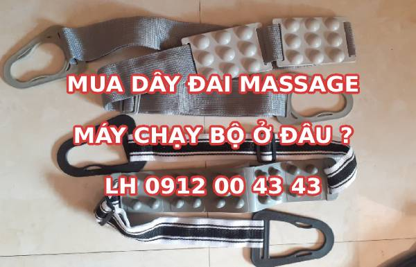 Mua dây đai massage máy chạy bộ