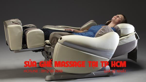 Sửa ghế massage tại TP HCM