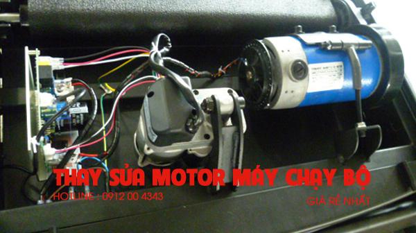 Thay sửa motor máy chạy bộ điện