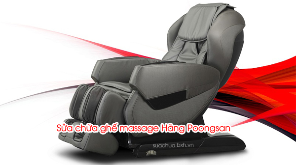 Sửa chữa ghế massage Hãng Poongsan