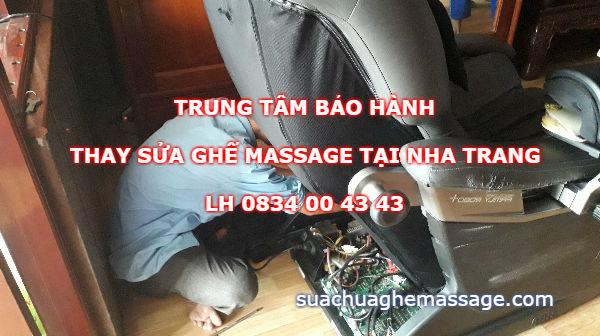 Trung tâm thay sửa ghế massage tại Nha Trang