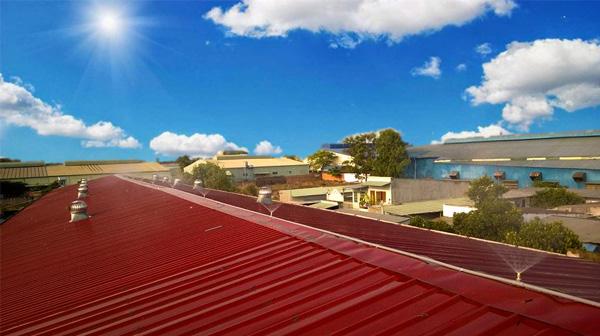 Những biện pháp chống nóng mái tôn cho mùa hè