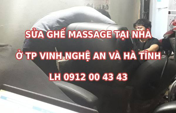 Sửa ghế massage tại Vinh