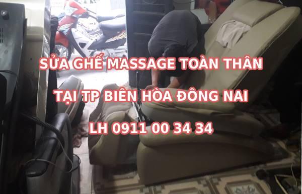 Sửa ghế massage tại Biên Hòa Đồng Nai