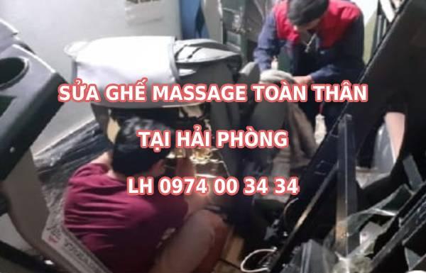 Sửa ghế massage tại Hải Phòng