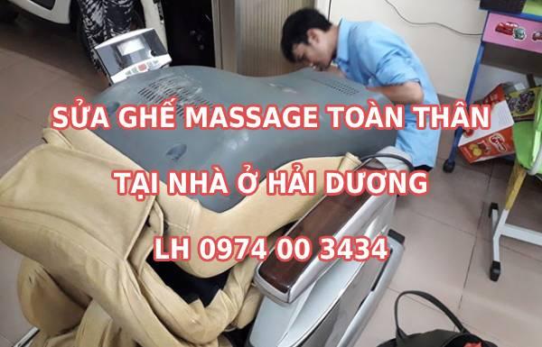 Sửa chữa ghế massage tại Hải Dương