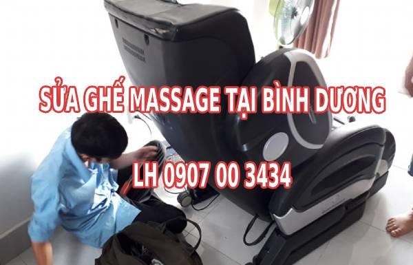 Sửa ghế massage tại Binh Dương