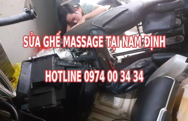 Sửa ghế massage tại nhà ở Nam Định